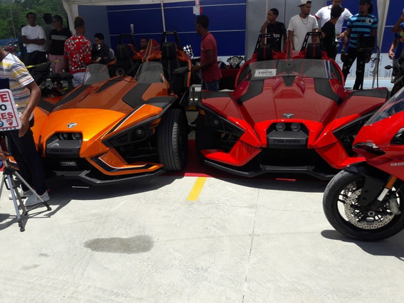 Polaris Slingshot 2015 Rojo 8096664454