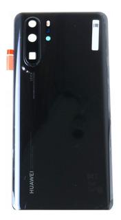 Tapa Huawei P30 Pro Negra Glass Camara Original