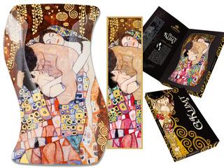Plato En Cristal Irregular 18 X12.7 Cm La Familia Klimt