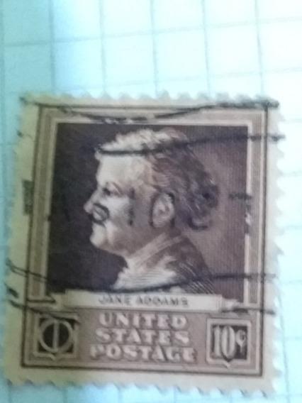 U.s. 878 @ (1940) -10 C Mnh/ognh Grado S98 {jane Addams}