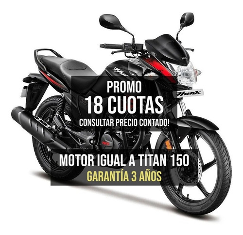 Hero Hunk 150 Fz Fi Honda Titan 150 18 Ctas $15050 Ciclofox