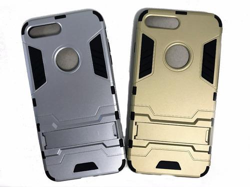 Funda Compatible Con iPhone 7 Plus Antigolpes Tpu X 10