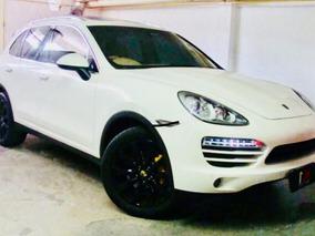 Porsche Cayenne 3.6 V6 2012 Branco Com Caramelo Maravilhosa