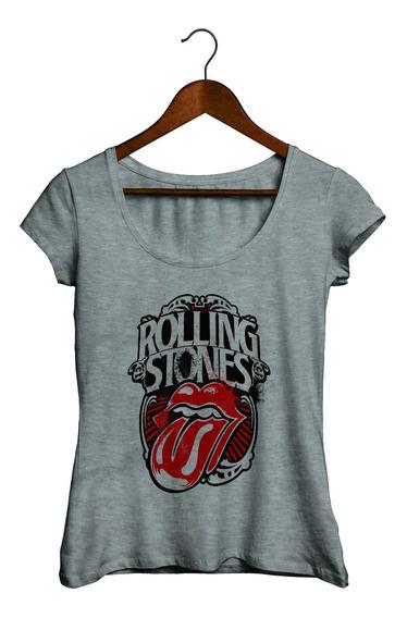 Remeras Mujer - Rolling Stones #05 - Tambien Hay En Gris!