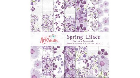 Papeles Para Scrapbook Spring Lilacs