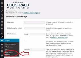 Adsense Click Fraud 1.9 Premium Controle De Clicks Inválidos