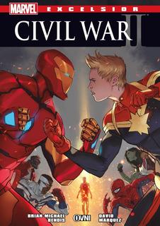 Cómic, Marvel, Excelsior Civil War 2 Ovni Press