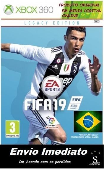Fifa19 Midia Em Digital Xbox 360 - Original Online