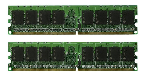 Memoria Ram 2gb Centon Ddr2kit667 2gb Pc2-5300 667mhz Ddr2 Dimm Kit