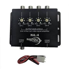 Napoli Na-4 Video Amplificador 4 Entradas Sinal
