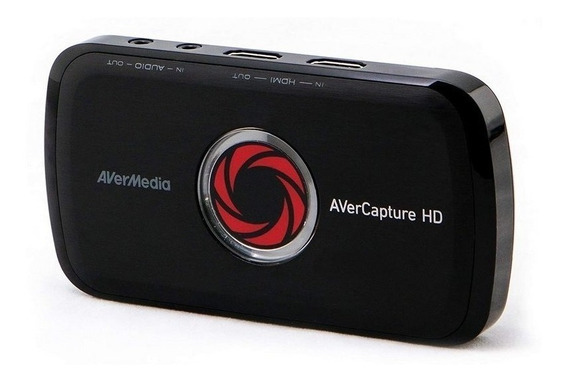 Placa De Captura Avermedia Lgp Gl310 Usb Full Hd 1080p Gamer