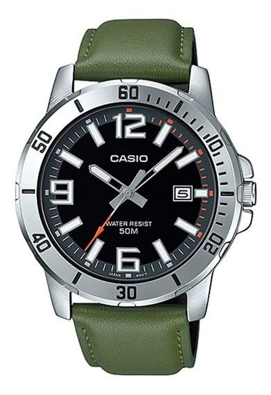 Relógio Casio Collection Masculino Mtp-vd01l-3bvudf