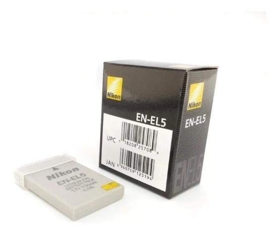 Bat Nikon En-el5 Coolpix P500 P510 P90 P80 P3 P4