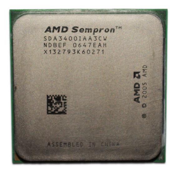 Processador Amd Sempron 3400+ Am2 800 Mhz 256 Kb