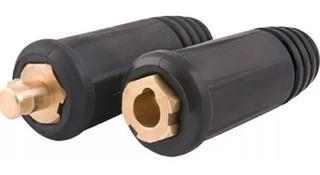 Conector Engate Macho E Fêmea 9mm P/ Cabo De Solda 10 A 25mm