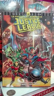 Dc Cómics Justice League La Guerra De Darkseid Pasta Dura
