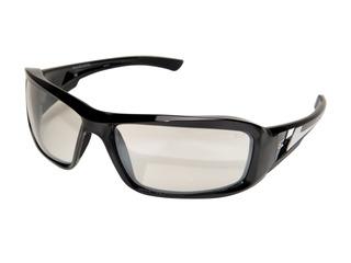 Edge Eyewear Xb111ar Brazeau Safety Glasses, Black With Clea