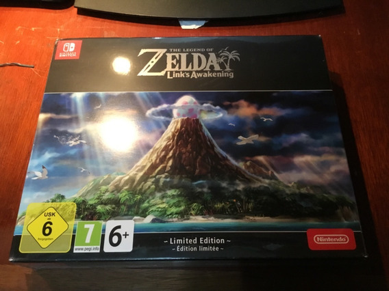 Zelda Links Awakening Limited Edition Nintendo Switch Lacrad