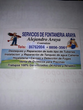 Servicios De Fontanería Araya