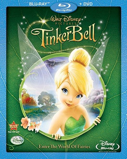 Blu-ray : L - Tinker Bell (with Dvd, Widescreen)
