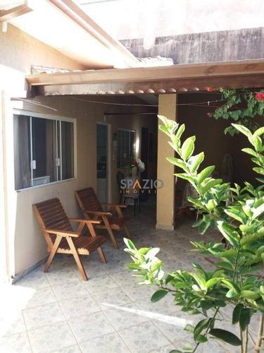 Imagem 1 de 28 de Casa Com 3 Dormitórios À Venda, 97 M² Por R$ 318.000,00 - Jardim Progresso - Rio Claro/sp - Ca0523