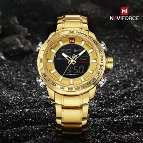 Relógio Masculino Naviforce 9093 Dual Time - Promoção