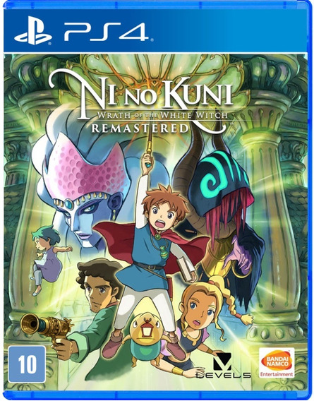 Ni No Kuni Wrath Of The White Witch Remastered Ps4 Novo