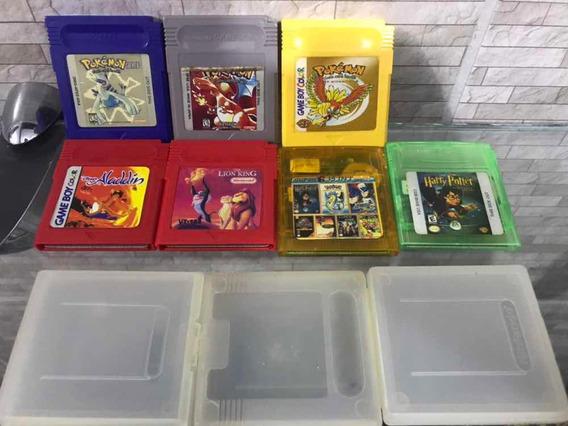 Jogos De Game Boy Lote Com 7 ( Todos Funcionando)