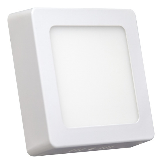 Luminaria Painel Led 100-240v Sobrepor 300 Quadrado 24w 6500