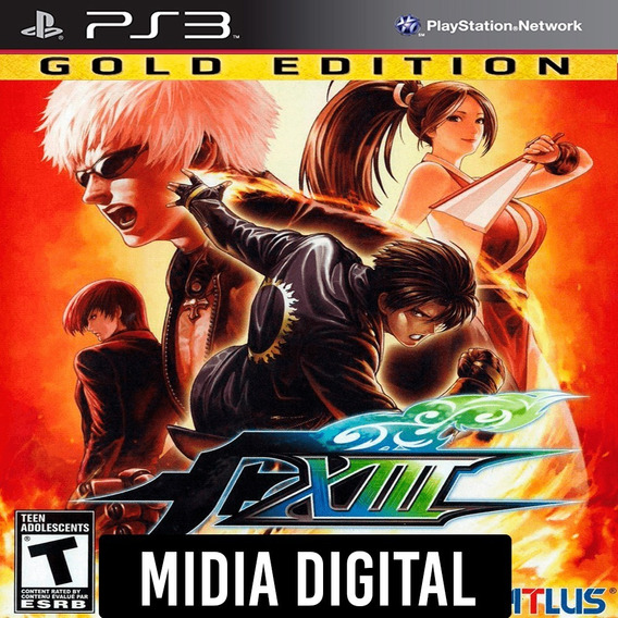 Ps3 - The King Of Fighters Kof 13 Xlll Gold Edition