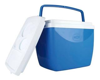 Caixa Térmica Mor 18l Para Cerveja Camping Azul