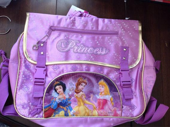 Morral Mochila Disney Princesas Original Wabro
