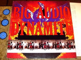 Lp Big Audio Dynamite - Megatop (1989) C/ Jones ( Clash )