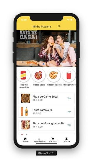 Aplicativo De Delivery Para Pizzarias, Restaurantes, Etc M3