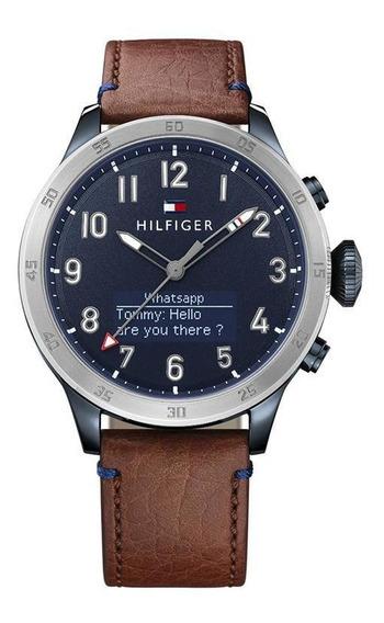 Reloj Tommy Hilfiger Caballero Color Marrón 1791300 - S007