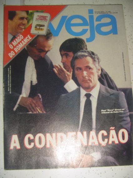 Revista Veja 688 Doca Street C Lessin Canudos Por Llosa 1981