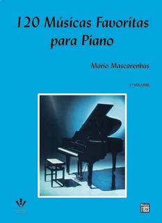 120 Musicas Favorita Para Piano Partituras Novo