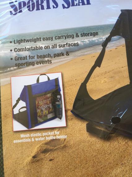 Cadeira Dobrável Portátil Praia E Pesca