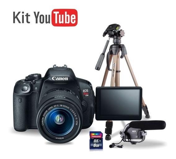 Kit Youtuber Cânon T5i