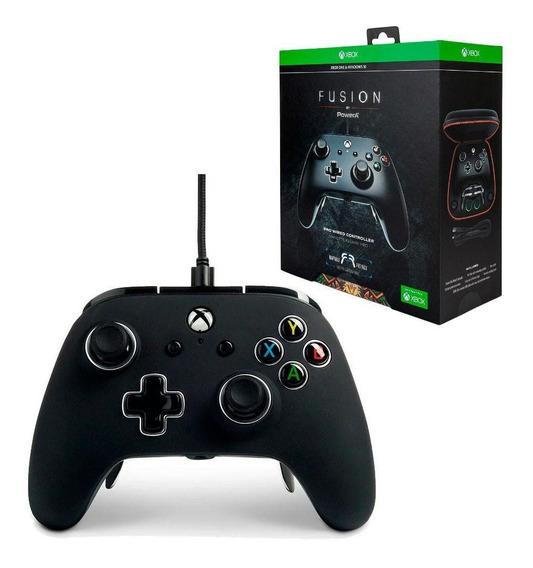 Controle Com Fio Fusion Pro - Powera - Preto Xbox One/ Pc