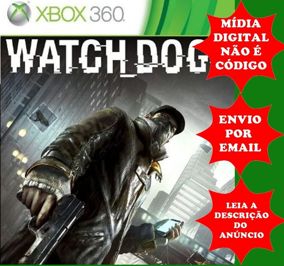 Watch Dogs Xbox 360 Midia Digital