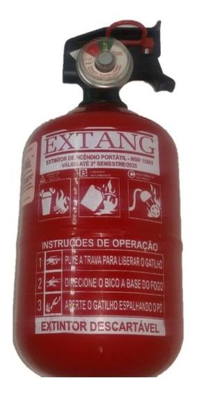 Extintor Abc Automotivo 1kg Gordinho/bujão Validade 5 Anos