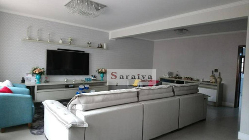 Imagem 1 de 24 de Sobrado À Venda, 495 M² Por R$ 1.449.000,00 - Campestre - Santo André/sp - So1128