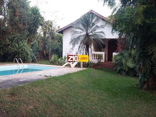 Imagem 1 de 20 de Ch01786 - Recreio Campestre Internacional De Viracopos - Gleba 3 - Casa Térrea - At 1.000m², Ac 294m²,  03 Suítes - Indaiatuba/sp - Z10 Imóveis. - Ch01786 - 68451140