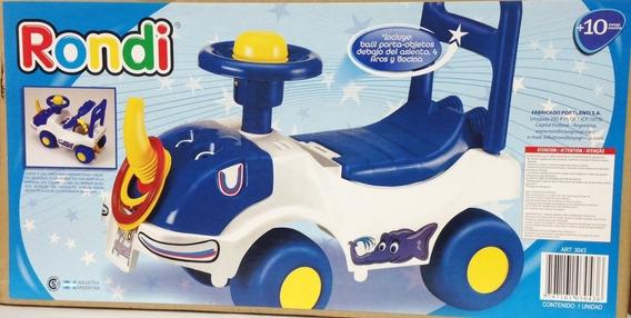 Andador Infantil Elefante Azul Rondi Original