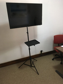 Pedestal Tv Suporte Chao Tripé Lcd Monitor Notebok Paletraa