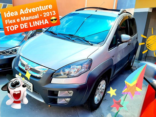Fiat Idea Adventure Flex - Parece Carro Okm. Aceito Troca