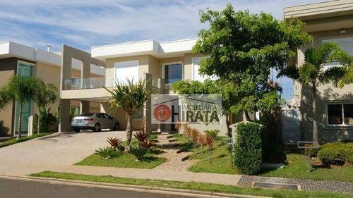 Casa Com 4 Dormitórios À Venda, 360 M² Por R$ 2.800.000 - Alphaville Dom Pedro - Campinas/sp - Ca1524