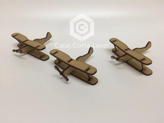 Souvenirs Infantiles Aeronautico Avion Originales Fibrofacil