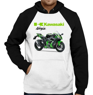 Moletom Moto Kawasaki Ninja Zx-10r